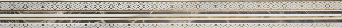 Listell Ivory Stripe Gold 10x90