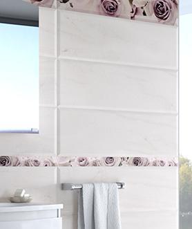 Biselado Belrose Bianco 25x75