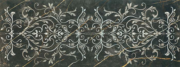 1320 DECORO NEGRO ORNAMENTAL 48x128